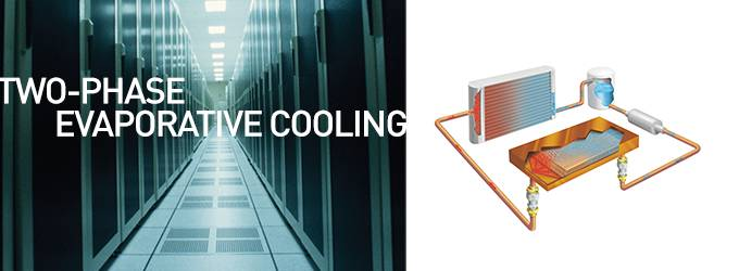 Two-Phase Evaporative Cooling