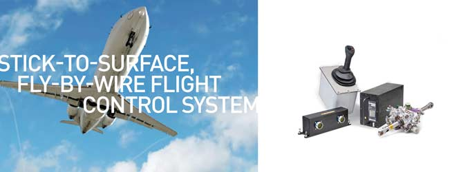 Stick-to-Surface, Fly-by-Wire Flight Control System
